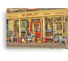W.E. Boone & Co. Ltd. Canvas Print
