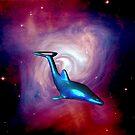Starship Dolphin by Borror