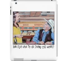 Dude & Stranger iPad Case/Skin