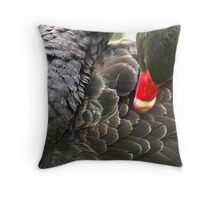 Black Swan Throw Pillow