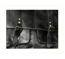 Satchel Buckles Art Print