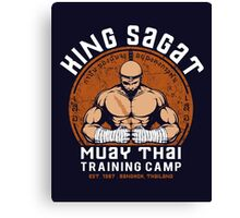 Muay Thai Camp Canvas Print