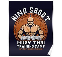 Muay Thai Camp Poster