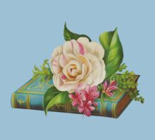 Flowers on the book Kids Clothes