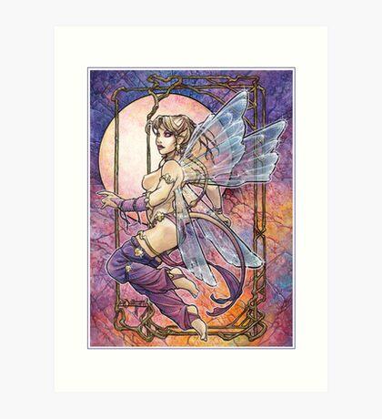 Tailed Pixie Art Print