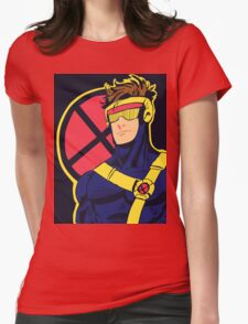 X-Men vintage Cyclops 1990s  Retro Womens Fitted T-Shirt