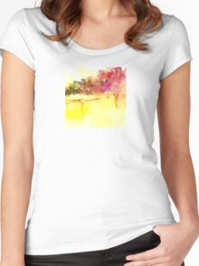 The Bridge to the Garden Women's Fitted Scoop T-Shirt