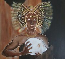 Egyptian Goddess by Anne Guimond