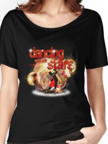 Dancing with the Stars Disco Balls Crashing Women's Relaxed Fit T-Shirt