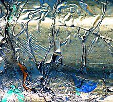 Alluminum In Abstract  by Alixzandra