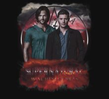 Supernatural Winchester Bros by ratherkool