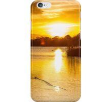 Sunset At Horseshoe Lake 2 iPhone Case/Skin