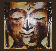 Buddha of Compassion 1 - Design 1 by Kevin J Cooper