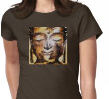 Buddha of Compassion 1 - Design 1 Womens Fitted T-Shirt