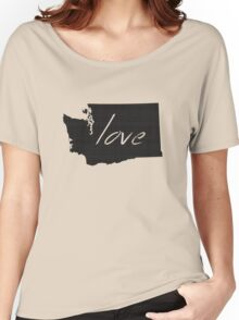 Love Washington Women's Relaxed Fit T-Shirt