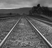 Ribblehead Station looking towards Whernside by dlsmith