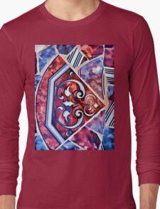 Mosaic Design Long Sleeve T-Shirt
