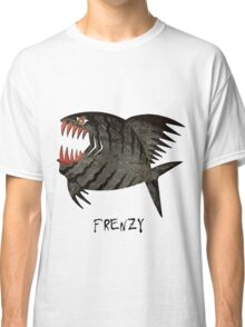 Angry  Fish - frenzy Classic T-Shirt