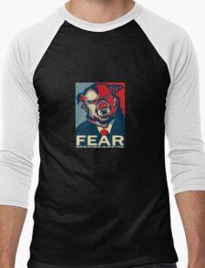 MANBEARPIG IS SUPER SERIAL! Men's Baseball ¾ T-Shirt