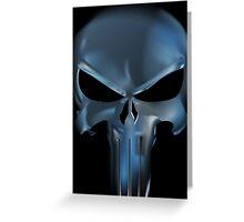 Dark Punisher Greeting Card