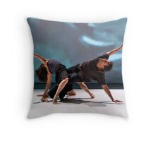 Performance of QuaaDriDuuo, November 2007, in Cologne Throw Pillow