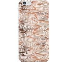 Rose Gold Waves iPhone Case/Skin