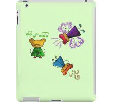 Cute cartoon iPad Case/Skin