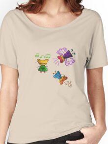Cute cartoon Women's Relaxed Fit T-Shirt
