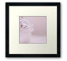 simplicity is the nature of great souls Framed Print