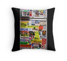 Radical Fridge Throw Pillow