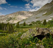 Conundrum Hot Springs Trail by Josh Myers