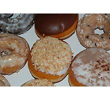 Krispy Kreme donuts Photographic Print