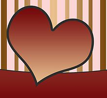 Love or Friendship Card or Background by regidesigns