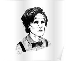 Matt Smith (Doctor Who) Etching Poster