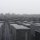 Berlin, Holocaust Memorial, 2008 by pensivepixie
