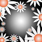 Flower Daises Background by regidesigns