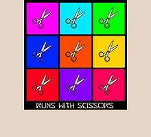 Runs With Scissors Womens Fitted T-Shirt