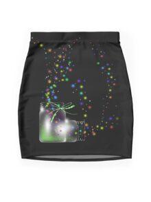 Mason Jars Fireflies Photographic Prints and Posters Mini Skirt