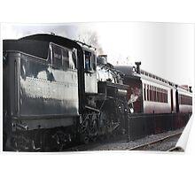 Pennsylvania Steam Engine Poster