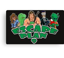 Escape Plan 9 Logo Canvas Print