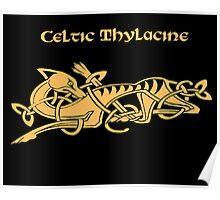 Celtic Thylacine Poster