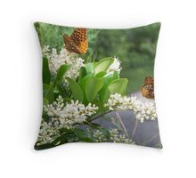 Coming and Going Throw Pillow