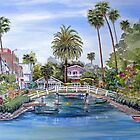 Venice Canals in Southern California by BonnieSue