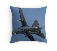 F-111 Take Off Throw Pillow