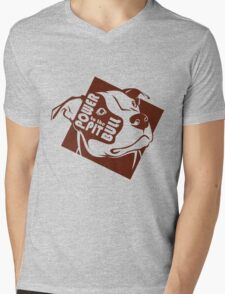 Power to the Pit Bull Mens V-Neck T-Shirt