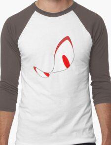 Angsty Glare Men's Baseball ¾ T-Shirt