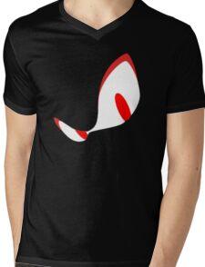 Angsty Glare Mens V-Neck T-Shirt