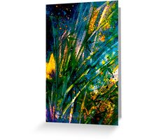 Tropics..Bamboo Night Greeting Card