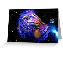 Space Dragon Greeting Card