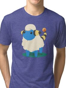 Do androids dream of Mareep? Tri-blend T-Shirt
